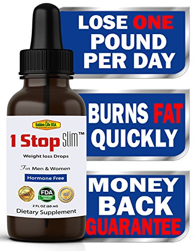 1 Stop Slim Thermogenic Weight Loss Shape Reclaimed Drops For Women & Men, RAPID FAT BURNING & IMMEDIATE STOMACH SHRINKAGE! Best Diet Product, With Raspberry Appetite Control Supplement Get Ripped now