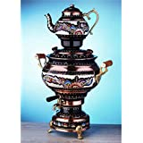 Electric Tea Maker Tea Machine Copper Samovar: Kettle & Pot Decorative Desing Tea Maker