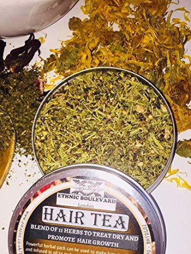 POUR TOUT TYPES DE CHEVEUX Tisane pour RINCAGE cheveux aux Plantes pour CHEVEUX GRAS Aider avec la pousse et l/'hydration des 100/% NATUREL AND VEGAN