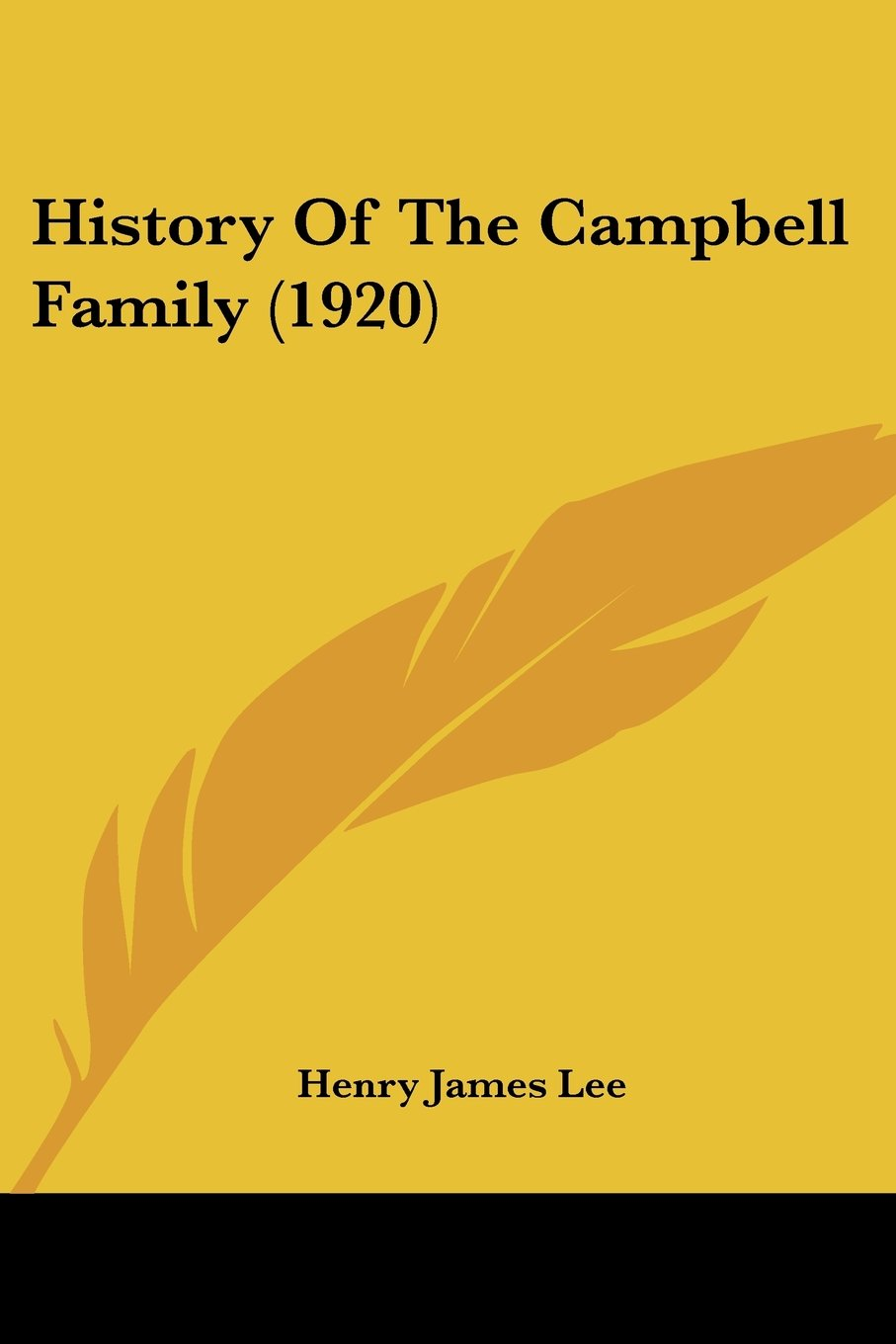 Download History Of The Campbell Family (1920) ebook
