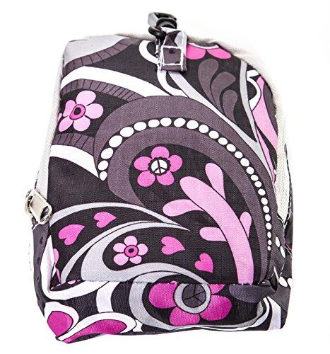 Shoulder faltbare Große Paisley Women Beuteltasche Pink Taschen Lightweight Casual nIqtvHn6