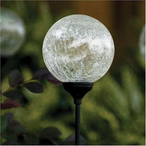 Elegant Solar Globe Garden Lights