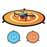 Philonext 30' (75cm) Universal Portable Fast-Fold Landing Pad for RC Drones Helicopter DJI Mavic Pro, Phantom 2/3/4/4 Pro, Inspire 2/1, 3DR Solo, GoPro Karma, Parrot, Antel Robotic & More