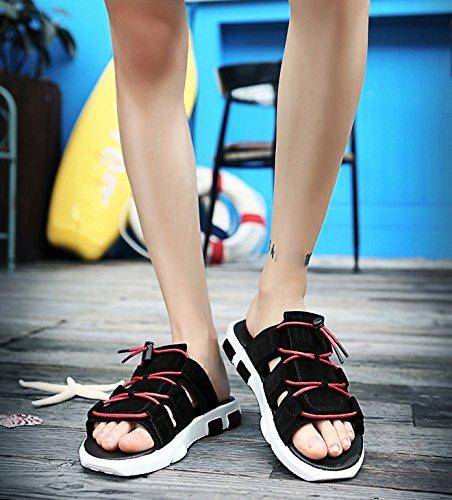 casual i estate personalit sandali esterni uomo da una pantofole e per trascinare sandali da uomo Pantofole moda indossare WFL parola di da x0awq