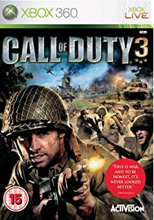 Call of duty world at war xbox 360 amazon pc video games call of duty 3 xbox 360 gumiabroncs Image collections