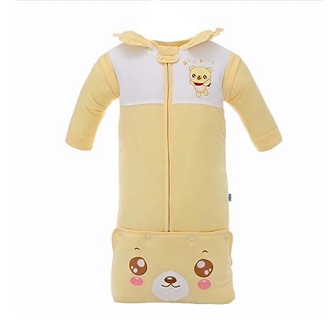 Saco de dormir para bebés recién nacidos niño niña otoño e invierno algodón lindo felpa Saco