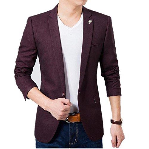 d95263c5126 Creative concepts Men s Slim fit Party wear Blazer  Amazon.in ...