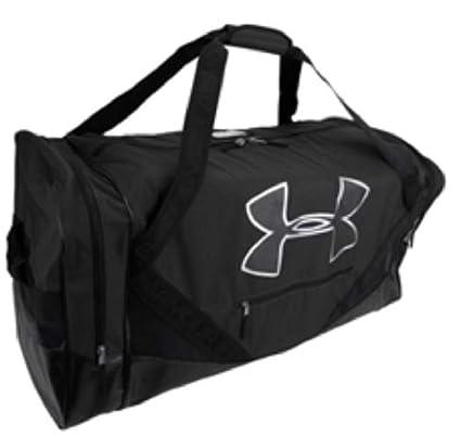 6c1e3da2da Amazon.com  Under Armour Deluxe Cargo Hockey Bag (Black)  Sports ...