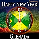 Happy New Year Grenada with Countdown and Auld Lang Syne
