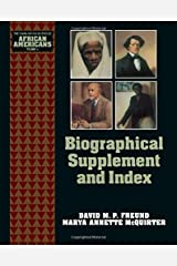 Biographical Supplement and Index (The Young Oxford History of African Americans)