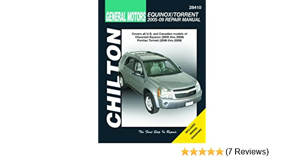 Gm equinox torrent 2005 2009 chiltons total car care repair gm equinox torrent 2005 2009 chiltons total car care repair manuals chilton 9781563928109 amazon books fandeluxe Image collections