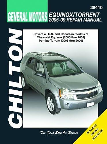 gm equinox torrent 2005 2009 chilton s total car care repair rh amazon com 2012 equinox repair manual 2013 chevrolet equinox repair manual pdf