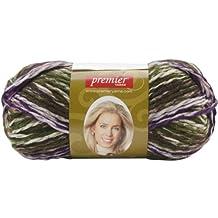 Premier Yarn Deborah Norville Serenity Chunky Multi Yarn Leaves