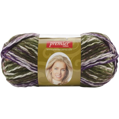 Yarn Leaf - Deborah Norville Serenity Chunky Multi Yarn Leaves