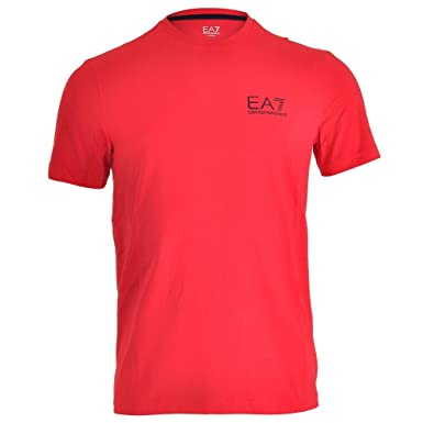 armani herren t-shirt rot