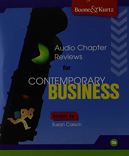 contemporary business audio chapter reviews