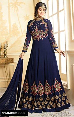 Eid Special Offer Blue Color Designer Dress Maßanfertigung Custom to ...