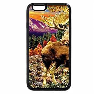 iPhone 6S / iPhone 6 Case (Black) Moose Meeting