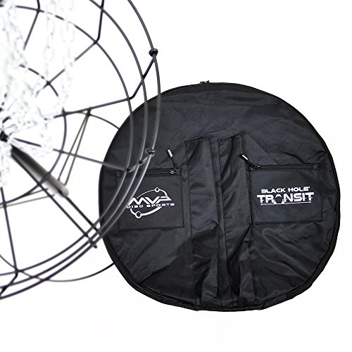 MVP Disc Sports Black Hole Pro Basket Transit Bag by MVP Disc Sports
