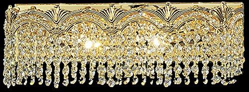 Classic Lighting 1851 G CP Regency II, Crystal, Vanity Lighting, 4
