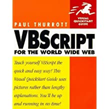 VBScript for the World Wide Web (Visual QuickStart Guide) by Paul B. Thurrott (1997-10-03)