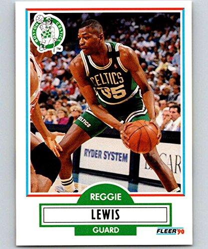 1990-91 Fleer #11 Reggie Lewis Celtics NBA Basketball
