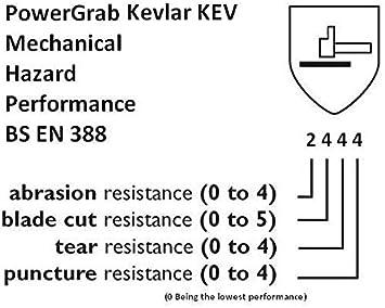 TOWA PowerGrab Cut Resistant 5 Kevlar Glove Size L