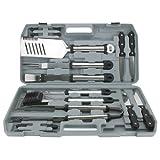 Mr Bar B Q 02099X 18-Piece Stainless Steel Tool Set