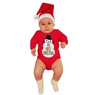 Amlaiworld Mameluco para bebé renacido, Navidad Niño bebé ...