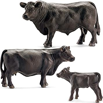Schleich Bauernhof Black Angus Kuh 13767