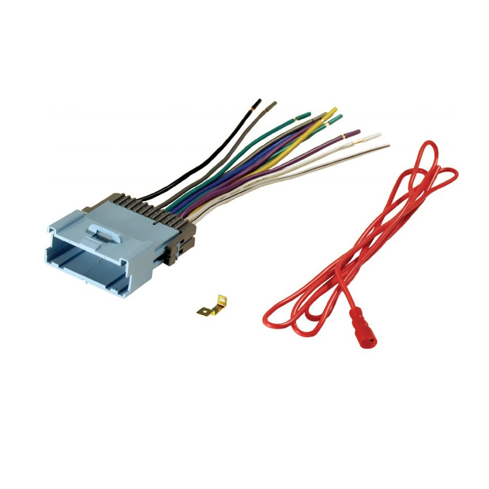 51UpKhKZpyL._SL1000_ amazon com aftermarket car stereo radio receiver wiring harness GM Radio Wiring Harness Diagram at gsmx.co