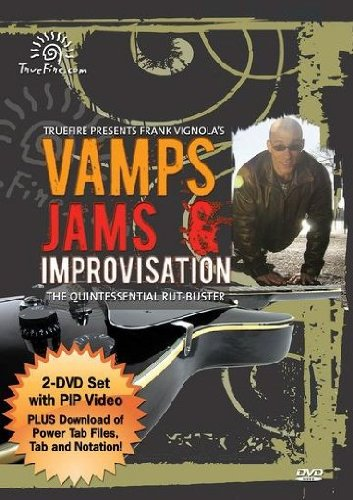 Vamps Jams & Improvisation - Instructional Guitar 2-DVD Pack Featuring Frank Vignola - 2 Instructional Dvd Video