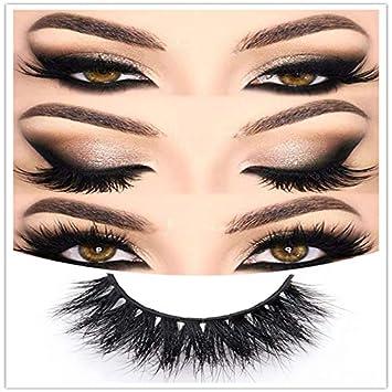 7311bd30a12 Mink 3D Lashes False Eyelashes -100% Siberian Fur Fake Eyelashes Dramatic  Look and Feel