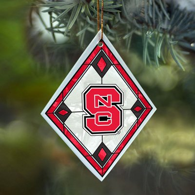 North Carolina State Stained Glass Ornament