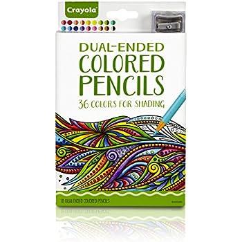 amazon com crayola colored pencils 50 count set pre sharpened