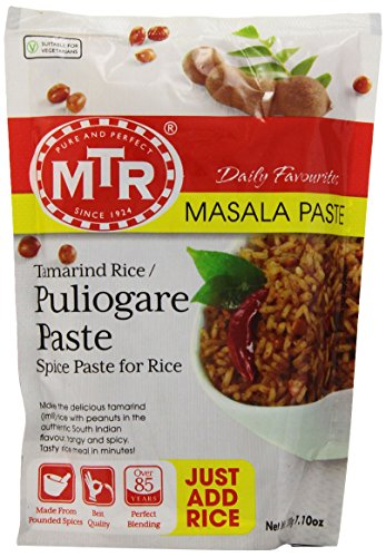 MTR Puliogare Paste, 7.10-Ounce Pouches (Pack of 30)