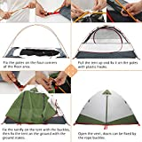 MOON LENCE Camping Tent 2 Person Backpacking Tent