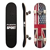 Best Assemblies With Equips - PUENTE 31 Inch Complete Skateboard - 8 Layer Review