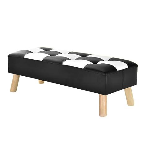 Pleasant Amazon Com Jianfei Ottoman Footstool Rest Sofa Stool Pu Dailytribune Chair Design For Home Dailytribuneorg