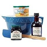 Stonewall Kitchen Batter Bowl Gift Set, Blueberry