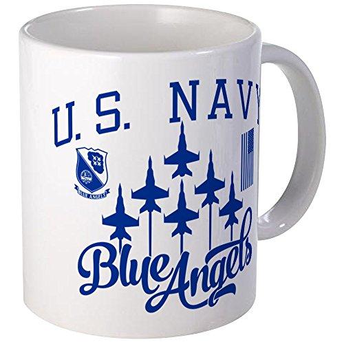 CafePress U.S. Navy Blue Angels Squadron Unique Coffee Mug, Coffee Cup