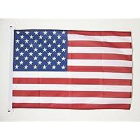 AZ FLAG USA-flagga 2 x 3 tum för utomhus – USA – USA – amerikanska flaggor 90 x 60 cm – banderoll 2 x 3 fot stickad…