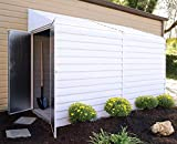Arrow Yardsaver Compact Galvanized Steel Storage