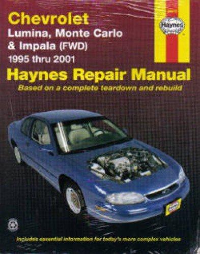 Download H24048 Haynes Chevrolet Lumina Monte Carlo Impala 1995-2005 Auto Repair Manual PDF