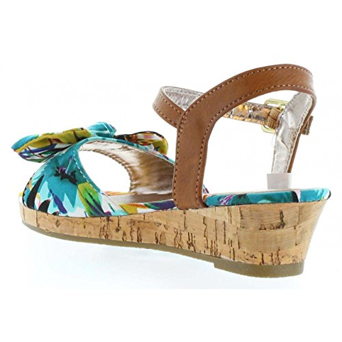 Sandales pour Fille URBAN 340093-B4600 MU T BLUE-NATURAL