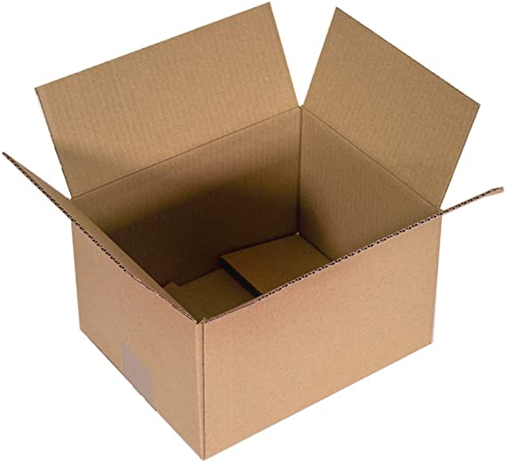 Kartox | Cajas de Cartón | Canal Simple Reforzado| Caja almacenaje | 25x15x10 | 25 Unidades: Amazon.es: Oficina y papelería