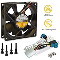 AcoustiFan AFDP 8025B 80mm Dustproof Ultra Quiet Fan