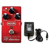 MXR M78 Custom Badass '78 Distortion Pedal w/1 Set of Dunlop 10-46 Strings an...