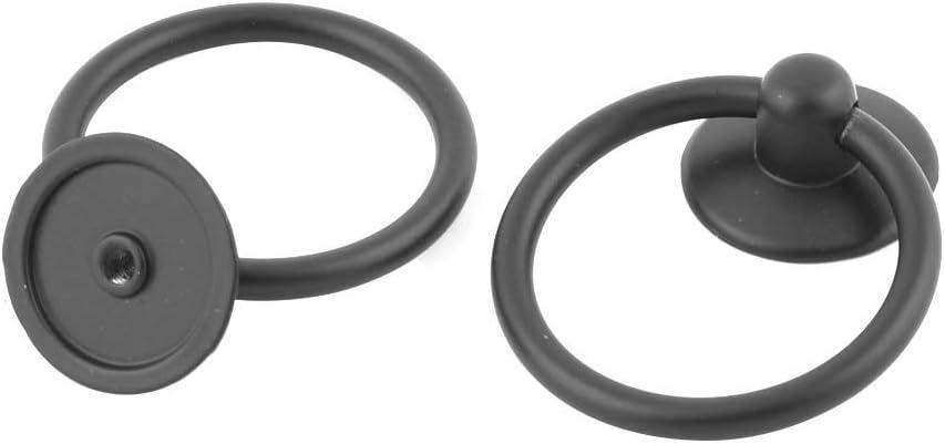 4 tiradores de anilla para cajones de la marca sourcingmap/®