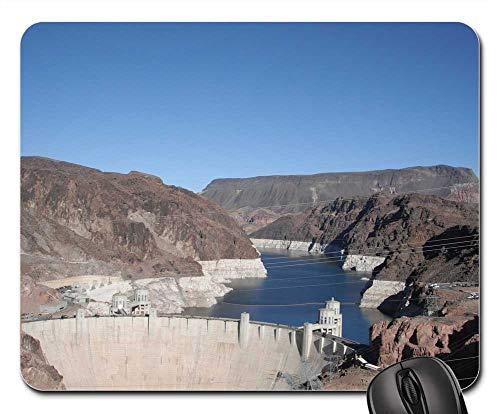 Mouse Pads - Boulder Dam Las Vegas Nevada Hoover Dam Dam